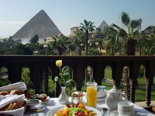 Mena House Breakfast View small