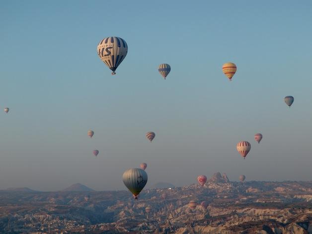 Balloon traffic small