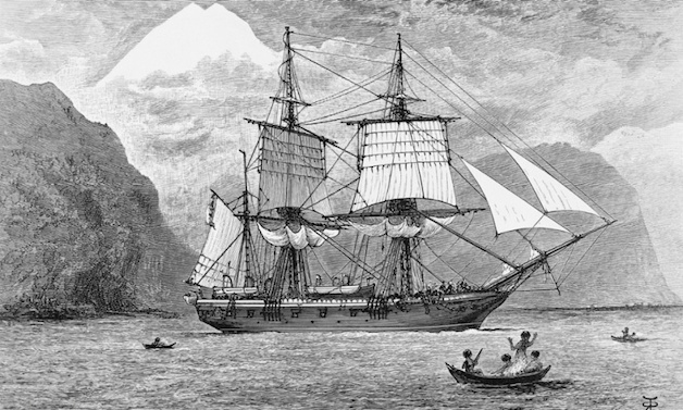 HMS Beagle. Photo: Corbis